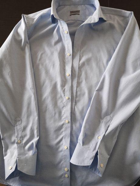 Koszula męska Emidio Tucci kołnierzyk 46 cm