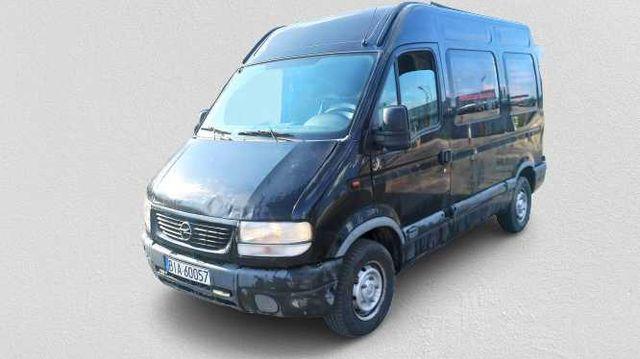 OPEL MOVANO 2.5 Diesel, dostawczy, ciężarowy, dostawczak, blaszak