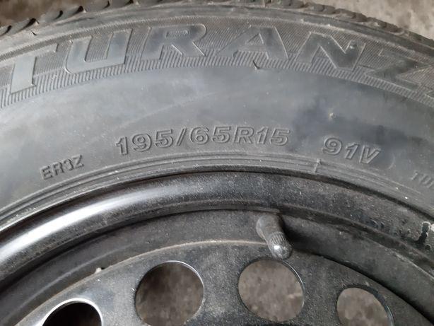 4x195 195/65 15 VW Skoda, felgi z oponami