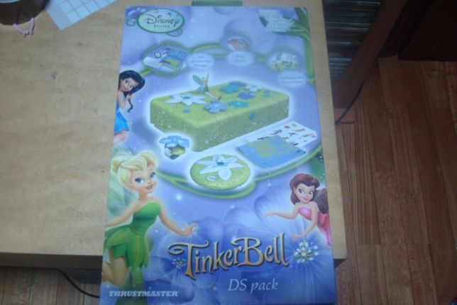 caixa de brincar e de nintendo Pack Disney Fairies 3DS