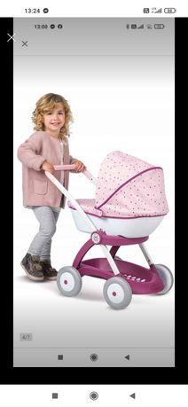 Wózek dla lalek dla dzieci do zabawy Smoby gondola nurse