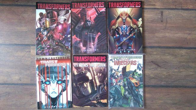 Komiksy Transformers IDW j. angielski