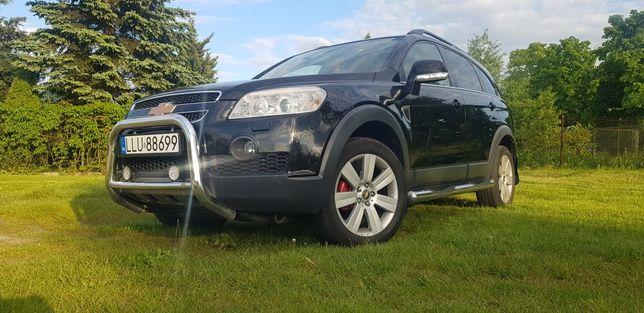 Chevrolet Captiva 2.0VCDI 150KM 4x4 Skóry 7 Miejsc Automat Hak Navi