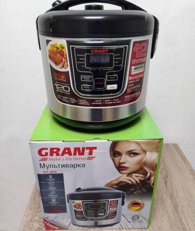 Мультиварка GRANT GT-202 900Вт 12 программ 5л