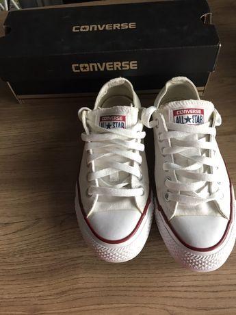Oryginalne buty Converse trampki 37 białe klasyczne