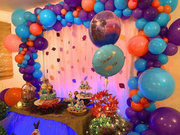 decoração em balões / balões com hélio e Led/ balões temáticos