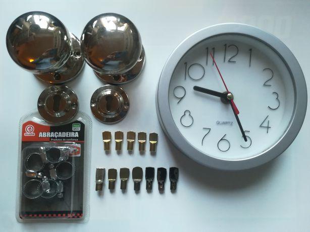 Maçanetas/Redutor Gás/Relógio de Parede/Suportes de Prateleiras