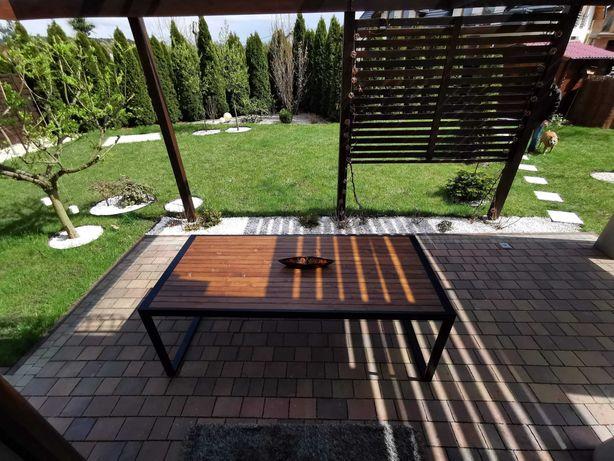 Stół na wymiar na taras ogród balkon loft industrial