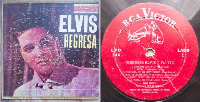 REGRESA ~ Elvis Presley ~ winyl LP wydanie 1960 KUBA ~ Elvis Is Back!
