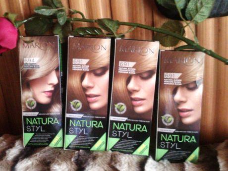 Farba do włosów Marion nr 691 i 694 /naturalny blond i popielaty blond