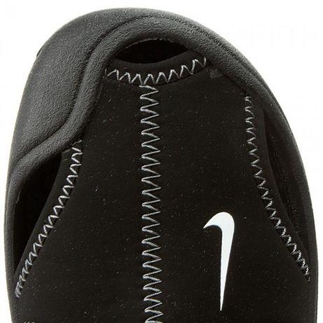 NIKE czarne sandały z pianki Sunray r.26/15cm !!