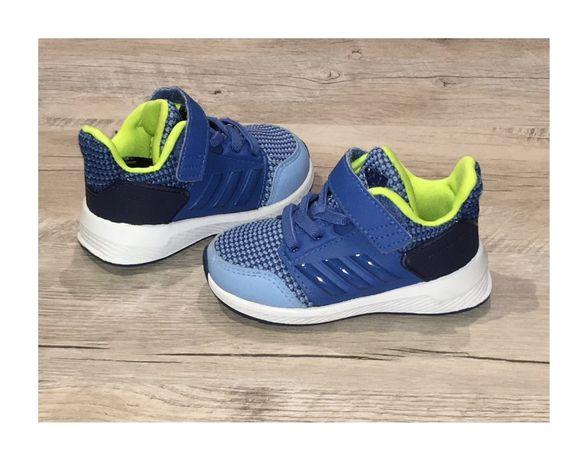 Adidas Rapidarun buty sportowe 20 niebieski granat białe j nowe 12,8cm