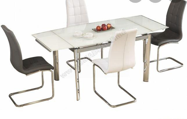 Стол обеденный Signal GD-020 120(180)х80 см Белый (GD020B)