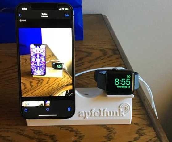 Dock Station, carregador magsafe, Apple Watch and AirPods Pro