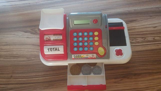 Kasa z kalkulatorem i wagą