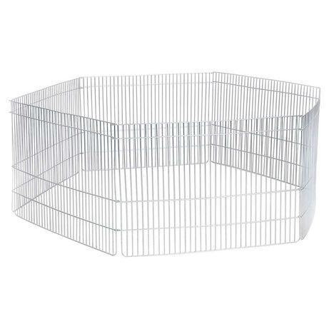 Манеж (загон, вольер) для животных 6 секций 100х60 см цинк