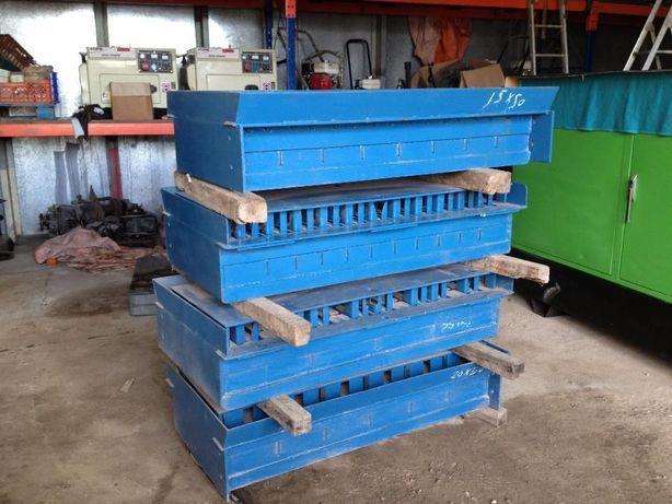 Moldes para máquinas de blocos