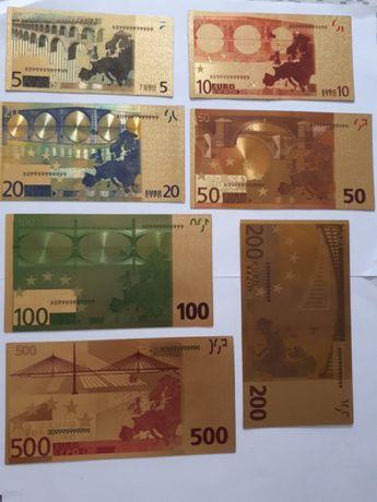 Pozłacane 24k Euro