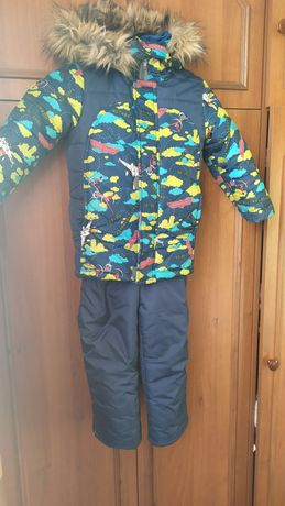 Зимний костюм , комбинезон,куртка +штаны