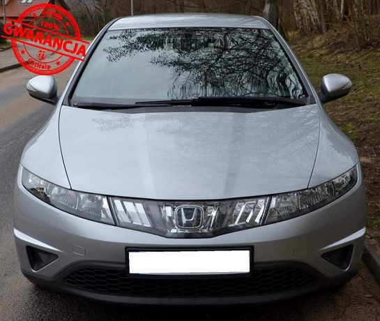 Honda Civic 1.4benz, 2008r., Klima, Alu, Okazja, Raty, Zamiana