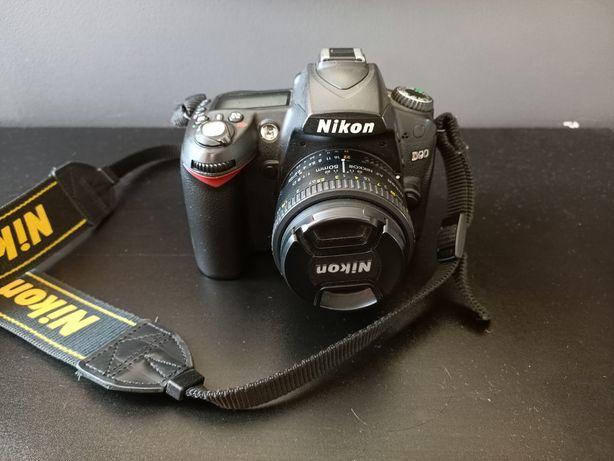 Nikon D90 body, oryginalne pudełko, przebieg 33tys
