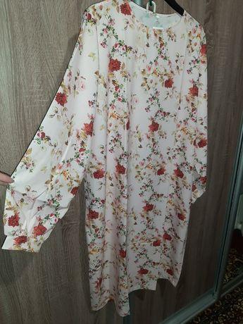 Платье батал Софт