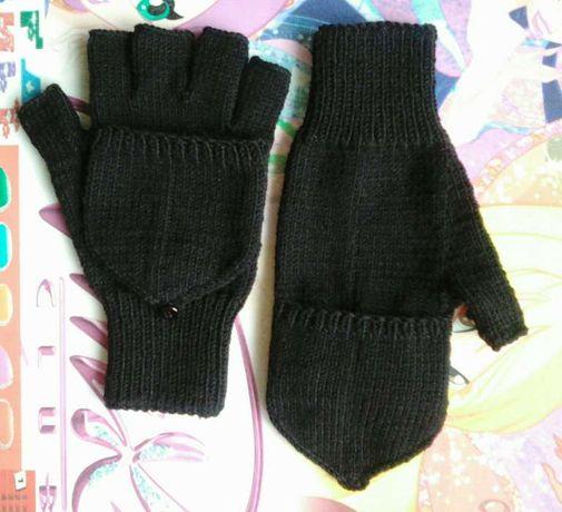Перчатки варежки, трансформеры.