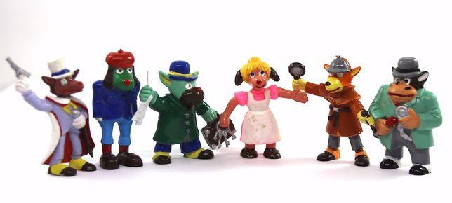sherlock holmes figuras bonecos em PVC vintage detetive banda desenha