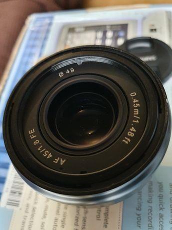 Samyang 45 mm 1.8 obiektyw Sony E FE gwarancja
