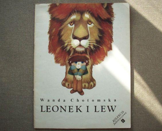 Leonek i lew, W. Chotomska, il. T. Wilbik, 1989.