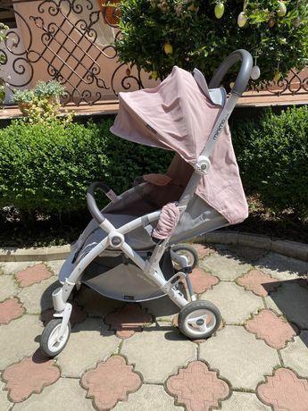 Прогулочная коляска EasyGo Minima Plus, цвет Power Pink