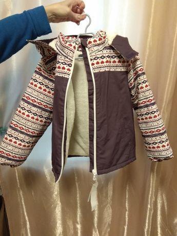 Зимняя куртка на девочку Inextenso из Европы