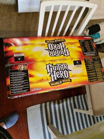 Guitar Hero World Tour Novo e selado