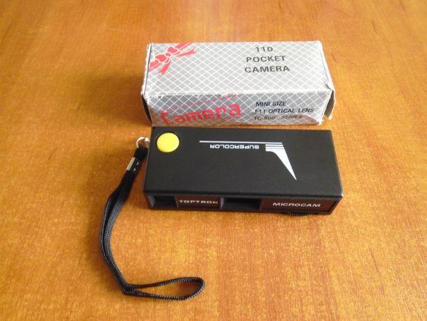 Toptron Micro Cam 110 Pocket Camera nowa dla kolekcjonera lata 70