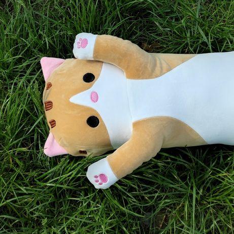 Кот 110 см (120 см с хвостом) мягкая игрушка подушка подарок
