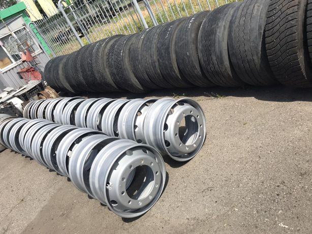 Диски колесные на тягач R22,5 стальные из Европы, резина, шины, колеса