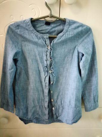 Джинсовая рубашка/ джинсовая блуза