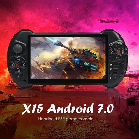 Консоль Powkiddy X15 Android 7.0, 2/32 гб. 5.5 дюймов НОВАЯ! JXD GPD