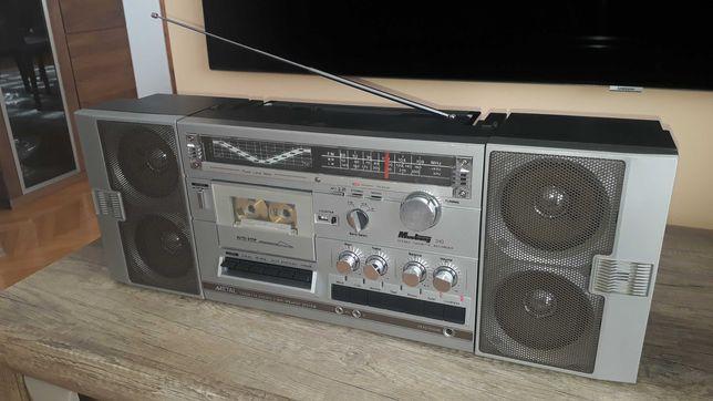 radiomagnetofon boombox Mustang 310 vintage pełny serwis