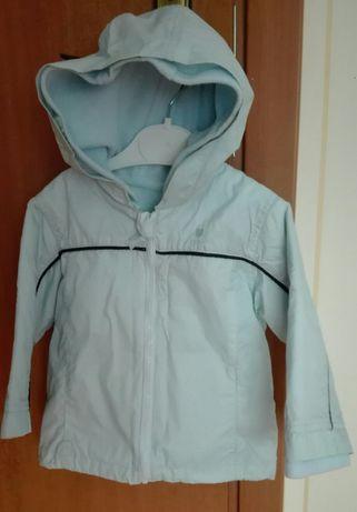 Куртка-ветровка двухсторонняя р 86