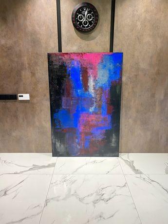 Большая интерьерная Картина абстракция 150:100 масло