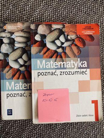 Matematyka- podręcznik i zbior zadań zakres rozszerzony cz 1