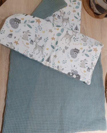Kocyk i poduszka