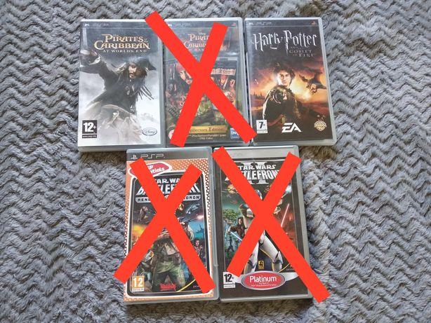 %% WYPRZ zestaw Harry Potter Piraci z Karaibów PSP stan bdb