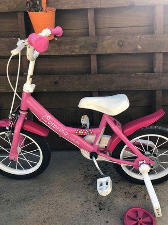 Bicicleta menina roda 16'' 5-7 Anos