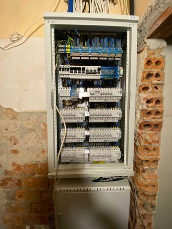Elektryk, instalacje elektryczne, pomiary, usuwanie awarii, odbiory