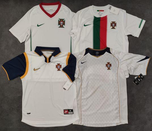Camisolas selecção de Portugal seleção portuguesa futebol brancas