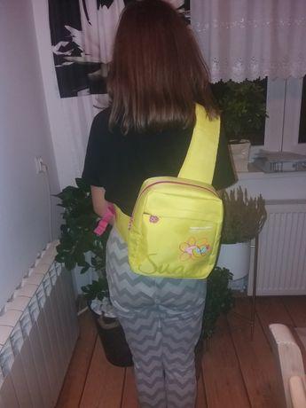 Plecak na ramię  dziewczęcy