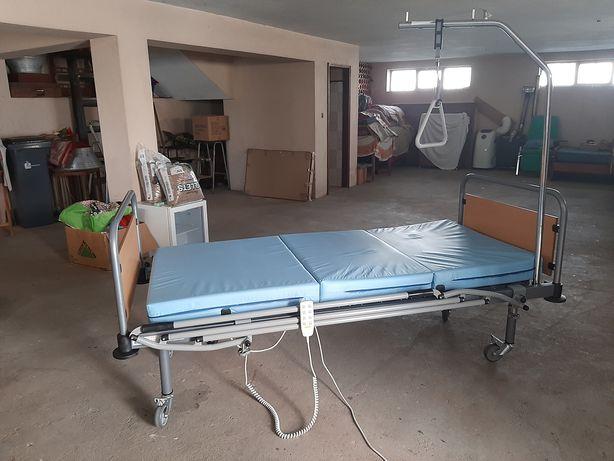 Cama articulada elétrica e hospitalar
