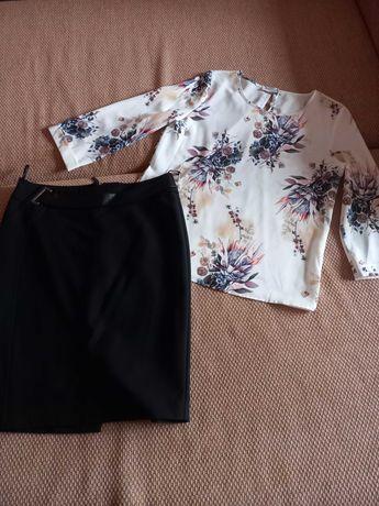 Продам стильный комплект одежды р. 46 Новое, блузка + юбка